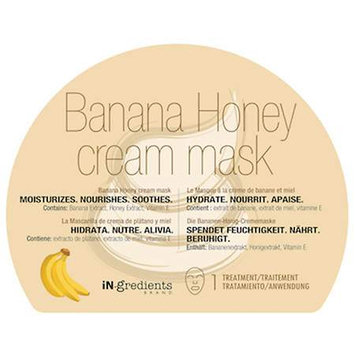 Masquebar iN. gredients Banana Honey Cream Mask - Banana honey
