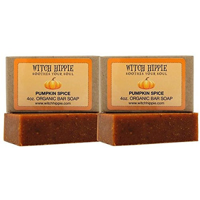 Pumpkin Spice 4oz Orgainic Bar Soap 2 pack by Witch Hippie