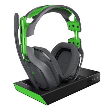 Logitech ASTRO Gaming A50 Wireless Dolby Gaming Headset - Black/Green - Xbox One
