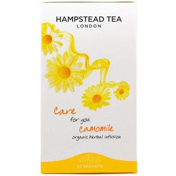 Hampstead Tea, Camomile, Organic Herbal Infusion, 20 Sachets, 0.88 oz (25 g) [Flavor : Camomile]