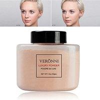 Loose Powder, Makeup Powder Highlighter Loose Powder Face Oil-free and Controls Shine Lasting Cosmetics