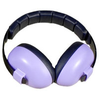 Baby Banz Earmuffs Infant Hearing Protection, Purple, 0-2 YEARS