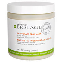Matrix Biolage Raw Re-Hydrate Clay Mask 14.4 oz