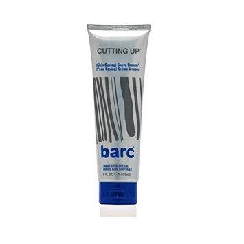 Barc Cutting Up, Unscented Shave Cream, 6 Oz + FREE LA Cross 71817 Tweezer