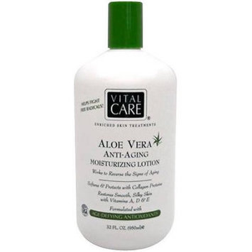 Vital Care Aloe Vera Anti-Aging Moisturizing Lotion