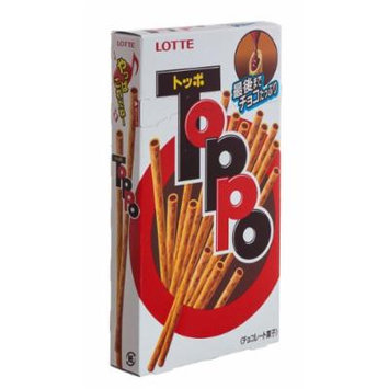Lotte Choco Toppo, 2.89-Ounce Units (Pack of 10)
