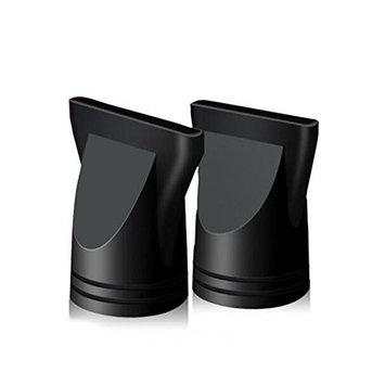 2PCS Professional Salon Hairdressing Tool Hair Dryer Nozzle Wide Design Plastic Hair Dryer Nozzle Replacement