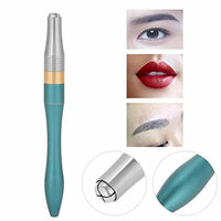 Microblading Supplies Manual Tattoo Pen, for Permanent Makeup Supplies, Durable Aluminum Pen With Ergonomic Grip, Floating Eyebrows, Lips and Eye Lines