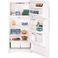 GE 16.5 cu. ft. Top-Freezer Refrigerator - Bisque