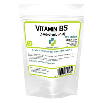 Vitamin B-5 100 x 460mg tablets (Pantothenic Acid)
