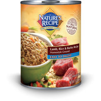 Nature's Recipe Easy to Digest Lamb, Rice & Barley Formula Canned Dog Food