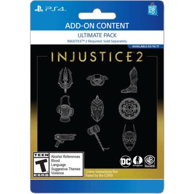 Incomm Sony Injustice 2 Ultimate Pack (Email Delivery)