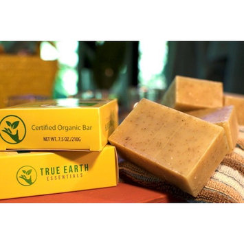 Eczema Psoriasis Bar Soap - 2 BARS PER BOX - Certified Organic from True Earth Essentials - Hypoallergenic - Sulfate-Free - Anti Fungal - All Natural Herbal Bar - Designed for Sensitive Skin