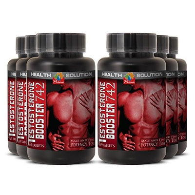 Orchic supplements - TESTOSTERONE BOOSTER 742MG - smooth muscle (6 Bottles)