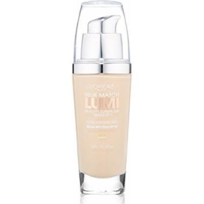 L'Oreal True Match Lumi Healthy Luminous Makeup, Porcelain/Light Ivory [W1-2], 1 oz (Pack of 2)