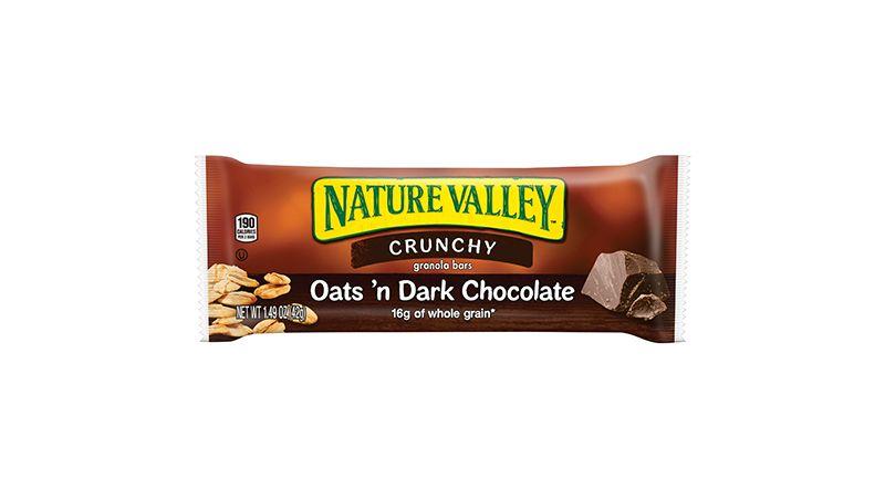 Nature Valley™ Crunchy Granola Bars Oats 'n Dark Chocolate (Double Bar) (18 ct) 1.49 oz