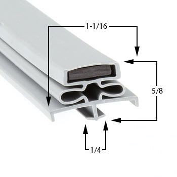 Utility Part 1309-p8 Door Gasket Utility Part# 1309-P8 Door Gasket