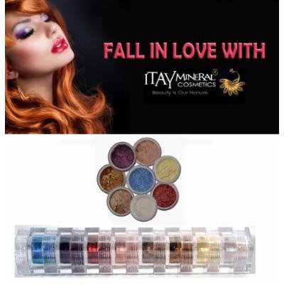 ITAY All-Natural Mineral 8-Stack Eye Shimmer