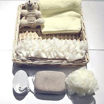 Zorvo Bath Gift Basket Include towel Bath Ball Sponge Bath Scrubber Belt Pumice Stone, Spa Gift Basket, Bath and Body Gift Set