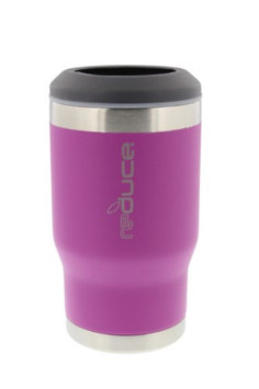 reduce COLD-1 Powder Coat Bottle/Can Cooler (Pink)