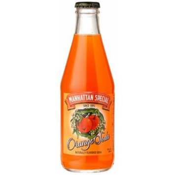 Manhattan Special ORANGE SODA FROM BROOKLYN NY