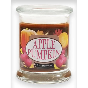 Apple Pumpkin Candle ~ Natural Scented Soy Wax 12oz Fall Candle ~ S&M Candle Factory