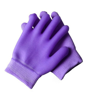 2 pcs Moisturizing Spa Gloves Moisturizing Gel Gloves Gel Line with Essential Oils and Vitamin E