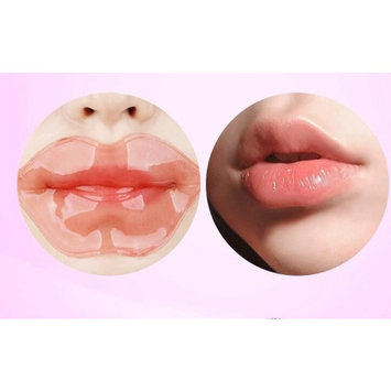 Tonewear Lip Plumper Collagen Nourishing Crystal Lip Mask Hydrating Lip Sheet Mask -(5-pack)