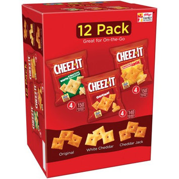 Cheez-It® Kellogg Sale Company Baked Snack Crackers Variety Pack Cheddar Jack/White Cheddar/Original