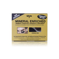 FORMULATED FOR MEN spa life COLLAGEN & mineral enriched bamboo charcoal under eye treatment 6 pack