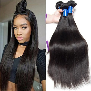 VIPbeauty Brazilian Lace Front Human Hair Wigs For Women Natural Black Color Short Bob Wigs Pre Plucked 150% Density (8 Inch)
