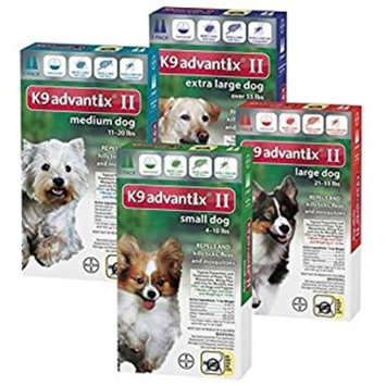 Bayer K9 Advantix II Flea & Tick Control Treatment [Standard Packaging, 2-Month]