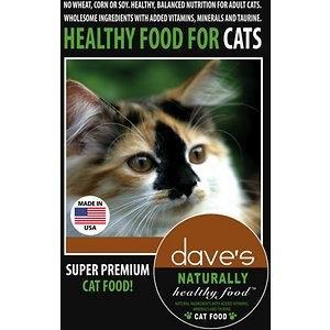 Dave's Pet Food Dave's Cat Food Balanced Nutrition - 8 lb. Bag