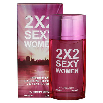 Inspired By 212 Sexy By Carolina Herrera Perfume, 2X2 Sexy Women - Eau De Parfum 3.4 Fl. Oz./ 100 ml