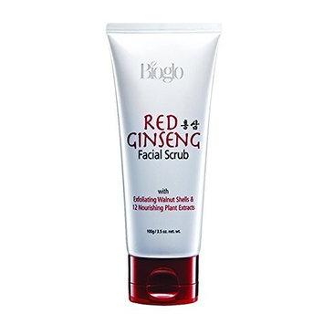 MUST BUY ! 3 Tube COSWAY Bioglo Red Ginseng Facial Scrub ( 100g )