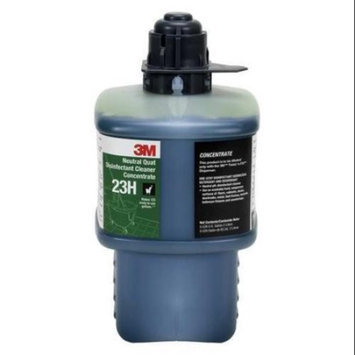 3M 23H Neutral Quat Disinfectant Cleaner Concentrate, Black Cap, 2 Liter
