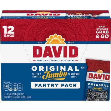 David Original Jumbo Pantry Pack 12ct