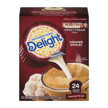 (Pack of 6) International delight cold stone sweet cream creamers, 24 Count - $0.1/ct