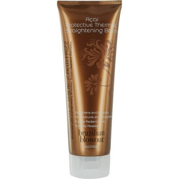BRAZILIAN BLOWOUT by ACAI PROTECTIVE THERMAL STRAIGHTENING BALM 8 OZ (Package Of 2) by Brazilian Blowout