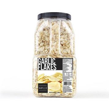 Hayllo Garlic Sliced Flakes, 3 Pound [Garlic Flake]