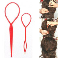 DZT1968 Magic Hair Twist Styling Clip Stick Bun Hairstyle Maker Braid Tools