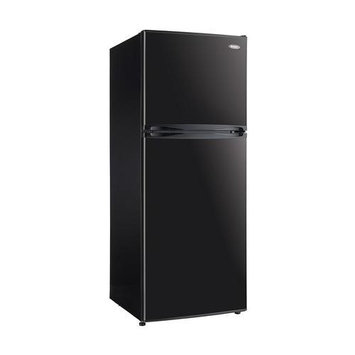 Danby DFF100C1BDB Top-Freezer Refrigerator on Black