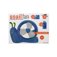Kole Imports Battery Operated Snail USB Fan (OD411)