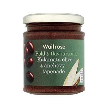 Tapenade Kalamata Olive & Anchovy Waitrose 165g - Pack of 2