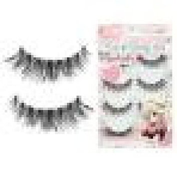 Premium Quality False Eyelashes   Love Story   Fluffy and Universal for All Eyes   Non-Magnetic   Natural Look and Feel   Reusable   100% Handmade