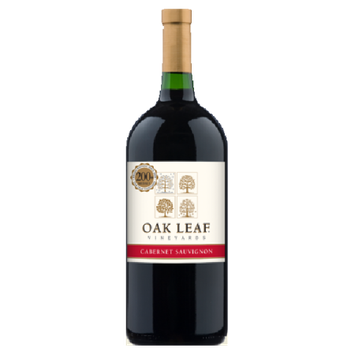 The Wine Group, Inc. Oak Leaf Cabernet Sauvignon Wine, 1.5 L