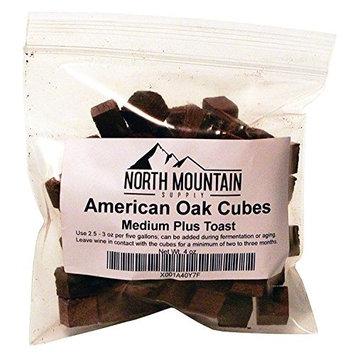 North Mountain Supply American Oak Cubes (Medium Plus Toast, 4 Ounce)
