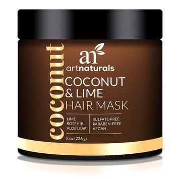 Artnaturals Coconut Lime Hair Mask, 8 Ounce