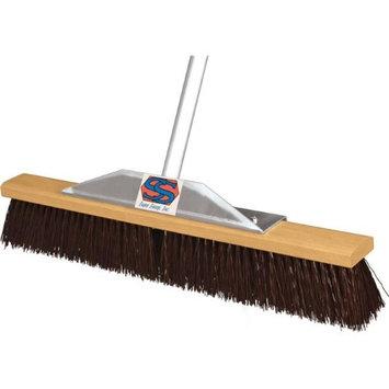 Super Sweeper 1000-101018 18 in. Maroon Poly Super Sweeper Broom