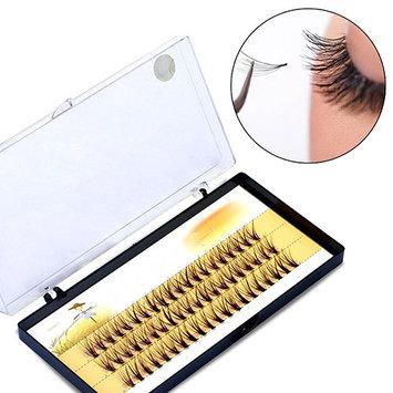 POLYHYMNIA Women Pro Makeup 60 Pcs Clusters Beauty Eye Lashes Grafting Fake False Eyelashes